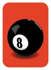 Aufkleberset 8 ball