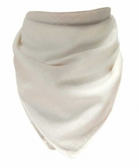 Bandana Kopftuch Uni Weiß