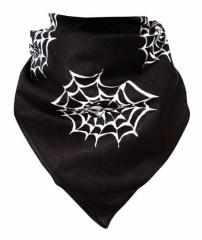 Bandana Halstuch Spinnennetze