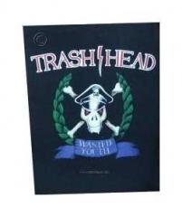 Trash Head Rückenaufnäher