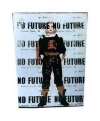 No Future Rückenaufnäher