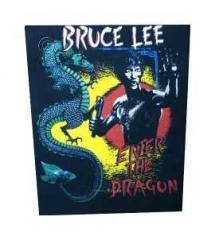 Bruce Lee Rückenaufnäher