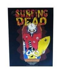 Surfing Dead Rückenaufnäher