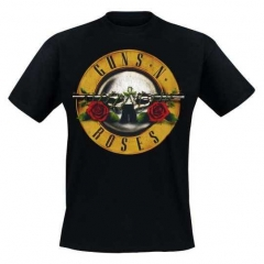 Guns'n'Roses Distressed Bullet T-Shirt