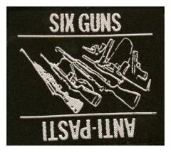 Aufnäher Six Guns