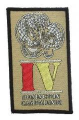 Aufnäher Donington Campaign