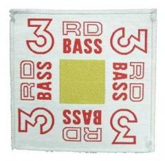 Aufnäher 3Rd Bass