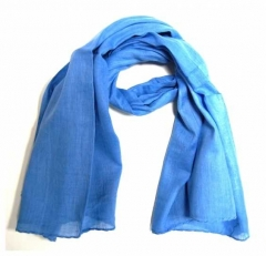 Cotton Scarf Light Blue