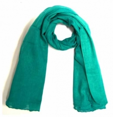 Cotton Scarf Turqoise