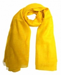 Cotton Scarf Yellow