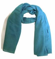 Baumwolltuch Babyblau