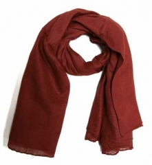 Cotton Scarf Ruby