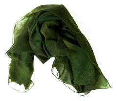 Bedrucktes Polyestertuch Grüne Textur
