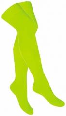 Over Knee Strümpfe Neon Gelb
