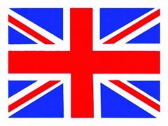 Aufnäher Flag Union Jack