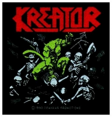 Aufnäher Kreator Pleasure To Kill
