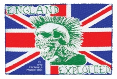 Aufnäher The Exploited England Exploited