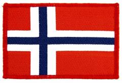 Aufnäher Flag Norway