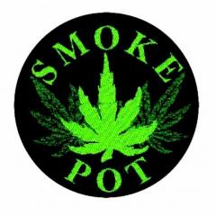 Aufnäher Smoke Pot