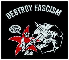 Aufnäher Destroy Fascism