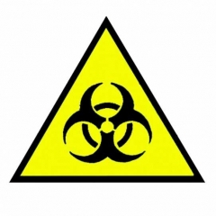 Aufnäher Biohazard