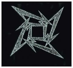 Aufnäher Metallica Star