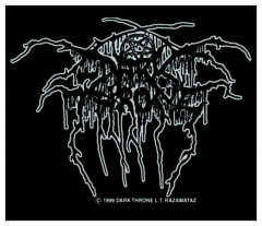 Aufnäher Darkthrone Lurex Logo