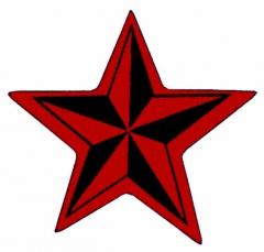 Aufnäher Nautical Star