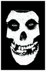 Aufnäher Misfits White Skull
