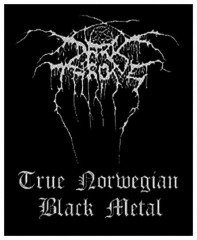 Aufnäher Darkthrone True Norweigan Black