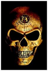Aufnäher Alchemy Omega Skull