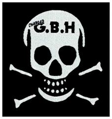 Aufnäher G.B.H. Skull