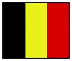Aufnäher Belgien