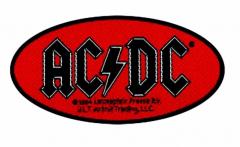 Aufnäher Ac/Dc Oval Logo