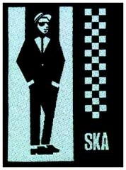 Aufnäher Ska Man