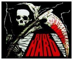Aufnäher Ride Hard