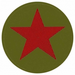 Aufnäher Red Star Khaki