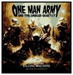 Aufnäher One Man Army & The Undead Quart