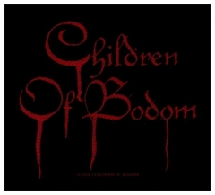 Aufnäher Children Of Bodom Blood Logo