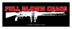 Aufnäher Full Blown Chaos