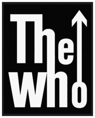 Aufnäher The Who Arrow Logo