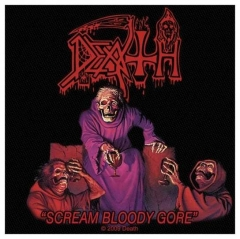 Aufnäher Death Scream Bloody Gore