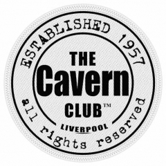 Aufnäher The Cavern Club Logo White