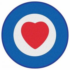 Aufnäher Heart Target