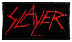 Aufnäher Slayer Scratched Logo