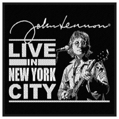 Aufnäher John Lennon Live In New York Ci