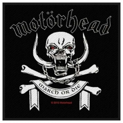 Aufnäher Motörhead March Or Die