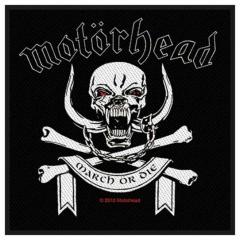 Patch Motörhead March Or Die