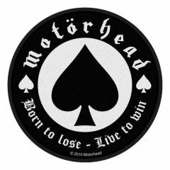 Aufnäher Motörhead Born To Lose