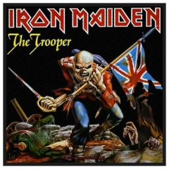 Aufnäher Iron Maiden The Trooper